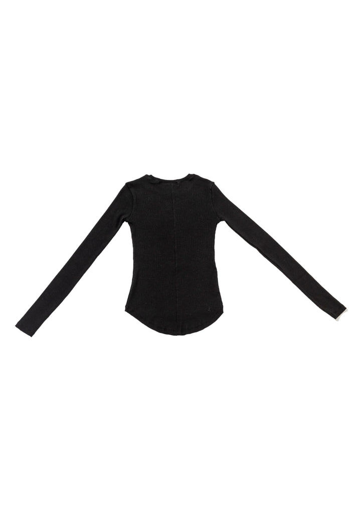 Black Basic Knit