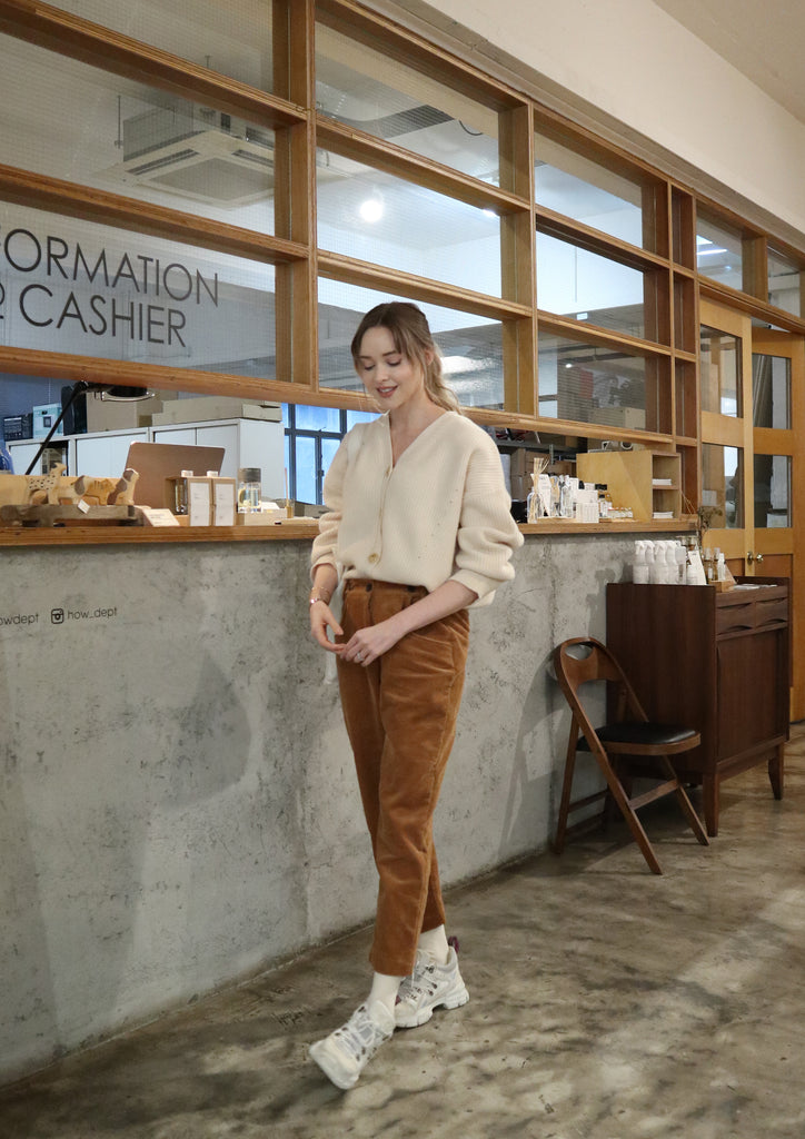 Brown Corduroy Pants