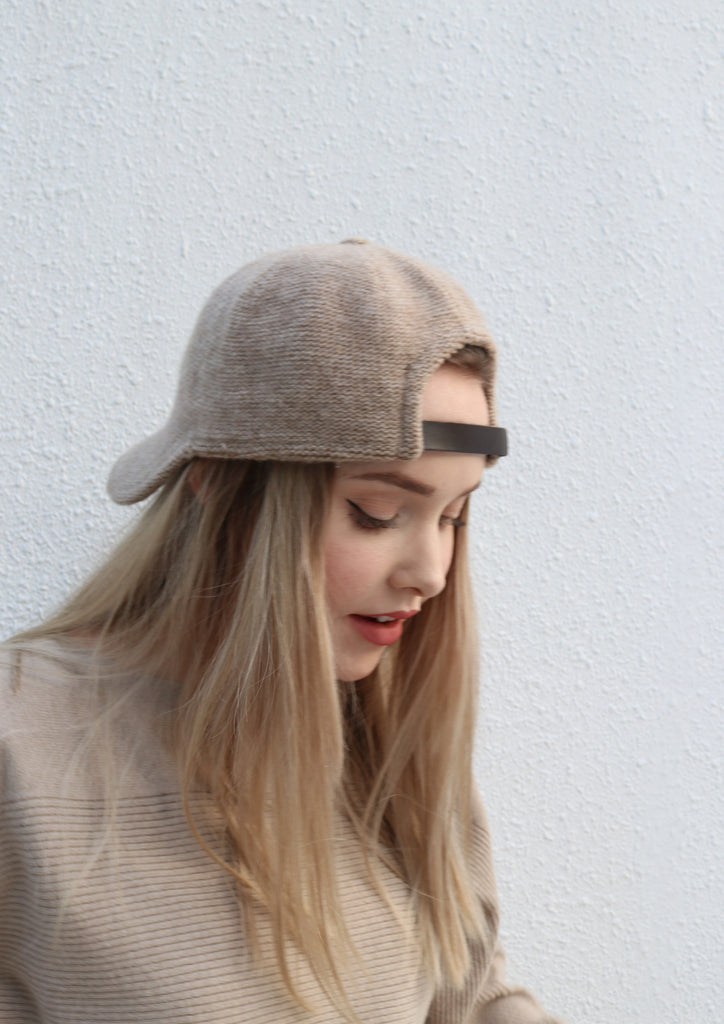 Oat Knitted Cap