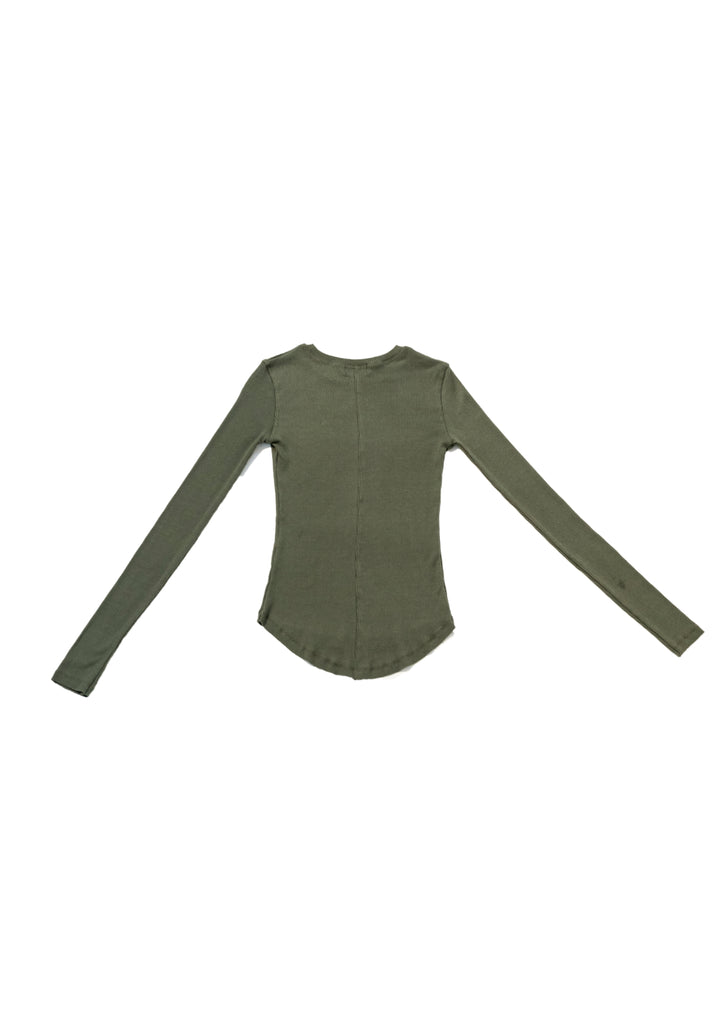 Green Basic Knit