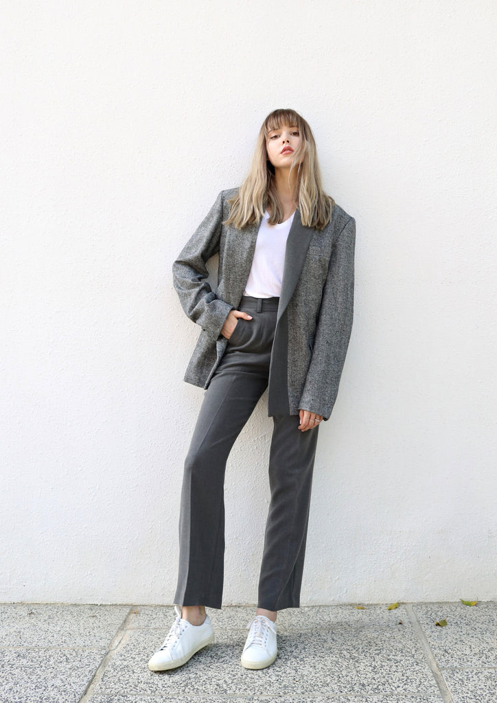 Two-Toned Grey Blazer