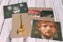 Load image into Gallery viewer, Ed Sheeran Portrait Postcard