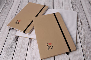 'I Heart Ed' Notebook