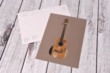 Load image into Gallery viewer, Cyril The Guitar Postcard