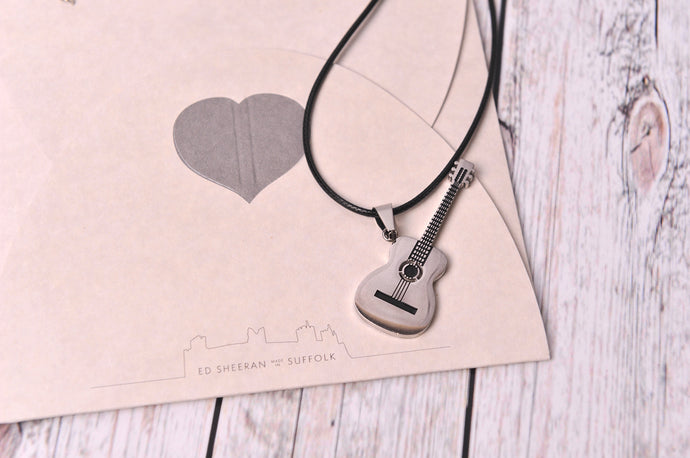 Guitar Charm Necklace - Created by Imogen Sheeran