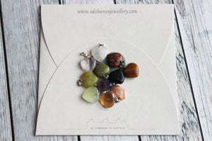 Gemstone Heart Charm Necklace - Created by Imogen Sheeran
