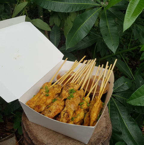 Chicken Satay per stick