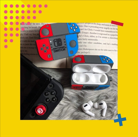 Nintendo Switch Case for Airpods Pro