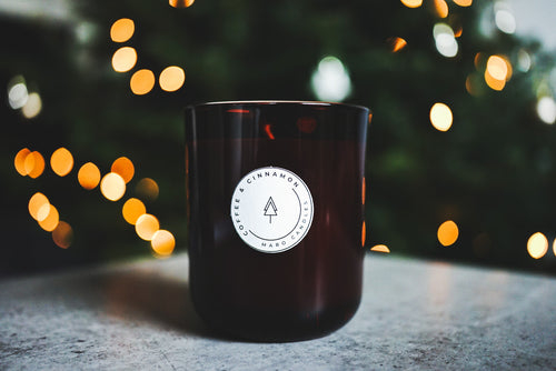 COFFEE & CINNAMON SOY CANDLE