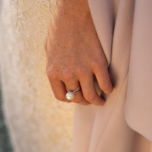 Pearl Ball ring