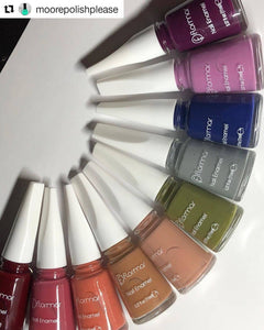 Review of Flormar Nail Polish Fall Collection by Moore Polish Please (VIDEO)
