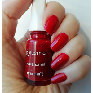 Flormar - Classic - 405 - Red Roots Classic Nail Enamel European Nail Polish