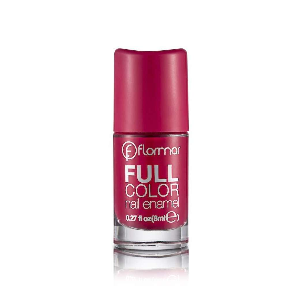 Flormar - Full Color - FC13 - Squashed Raspberry Full Color Nail Enamel Flormar US
