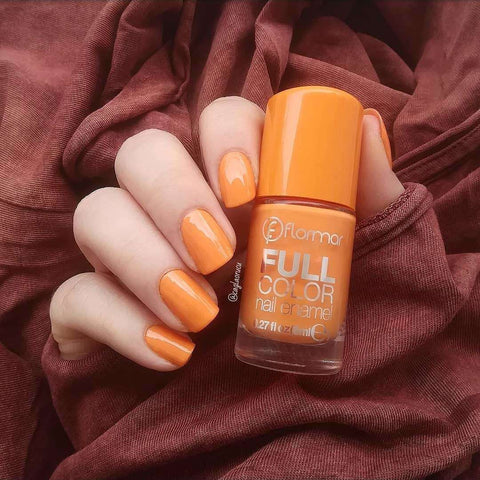 Flormar - Full Color - FC18 - Salmonsashimi Full Color Nail Enamel European Nail Polish