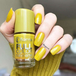 Flormar - Full Color - FC22 - Grass Juice Full Color Nail Enamel Flormar US