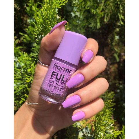 Flormar - Full Color - FC38 - Lilac Blossom Full Color Nail Enamel Flormar US