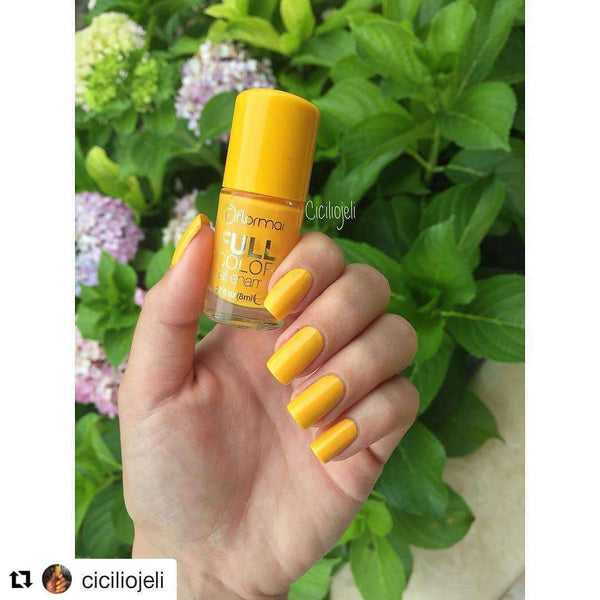 Flormar - Full Color - FC47 - Lemoncello Full Color Nail Enamel Flormar US
