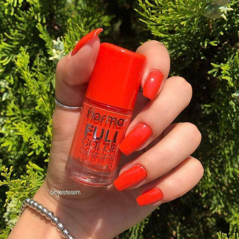 Flormar - Full Color - FC50 - Miami Sunset Full Color Nail Enamel Flormar US