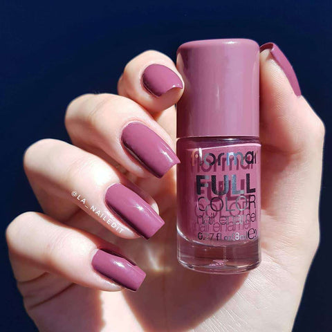 Flormar - Full Color - FC62 - Berry Brown Full Color Nail Enamel Flormar US