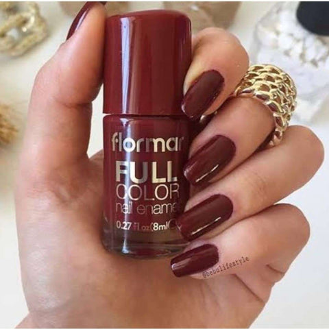 Flormar - Full Color - FC66 - Cinnamon Full Color Nail Enamel European Nail Polish