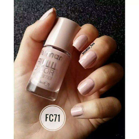 Flormar - Full Color - FC71 - Puzzle Full Color Nail Enamel European Nail Polish