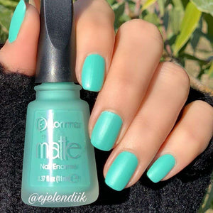 Flormar - Matte - M04 - Perfect Mint Matte Nail Enamel European Nail Polish