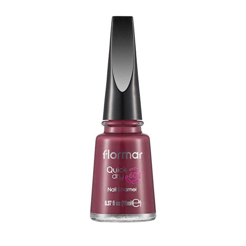 Flormar - Quick Dry - QD20 - Rose Taboo Quick Dry Nail Enamel Flormar US