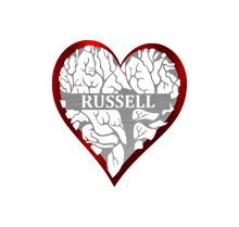 Load image into Gallery viewer, Heart - Tree Of Life Monogram