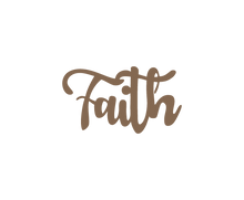"Load image into Gallery viewer, Home Decor - ""Faith"" Sign"