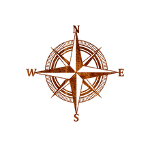 Load image into Gallery viewer, Home Decor - Nautical Compass