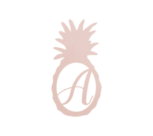 Load image into Gallery viewer, Home Decor - Pineapple Monogram Initial