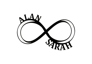 Personalized-5 - Infinity Monogram