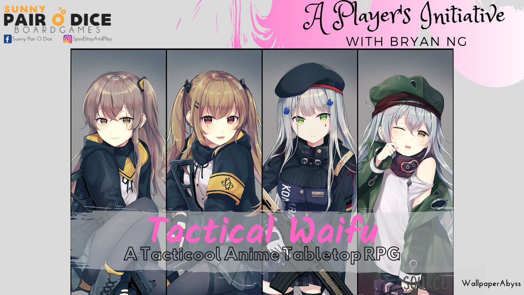 Tactical Waifu Anime Tabletop RPG (NC16)