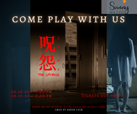 Boardgame Singapore, Betrayal at House on the Hill, Tabletop RPG