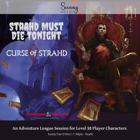 D&D Singapore, Curse of Strahd, Tabletop RPG