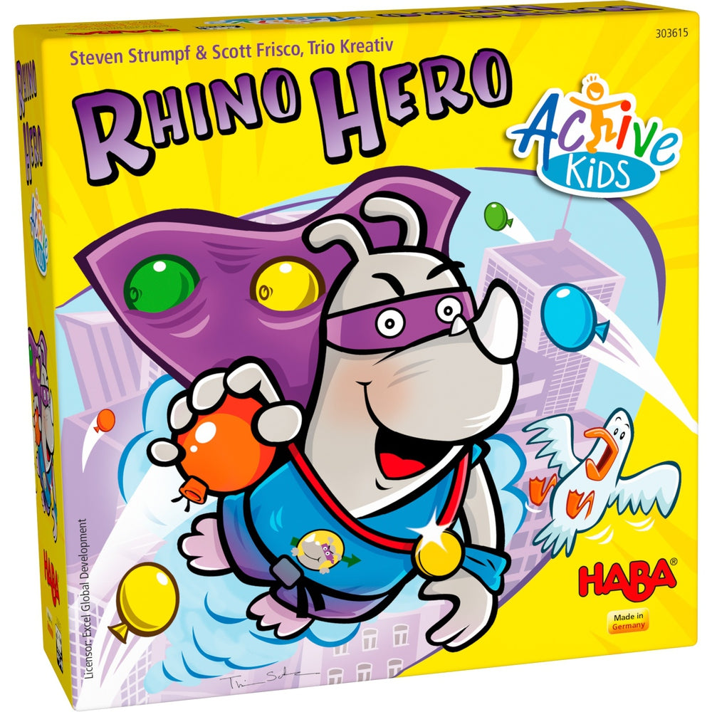 Rhino Hero Active Kids - HABA | Sunny Pair'O'Dice