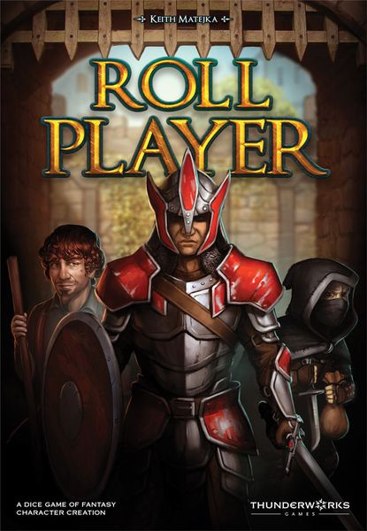 Roll Player EN 6th - Thunderworks Games | Sunny Pair'O'Dice