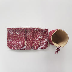 Self-Standing Dice Bag - Reversible Colours | Sunny Pair'O'Dice