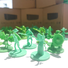 40 Fantasy Monster Unpainted Miniatures (Smiling GM) | Sunny Pair'O'Dice