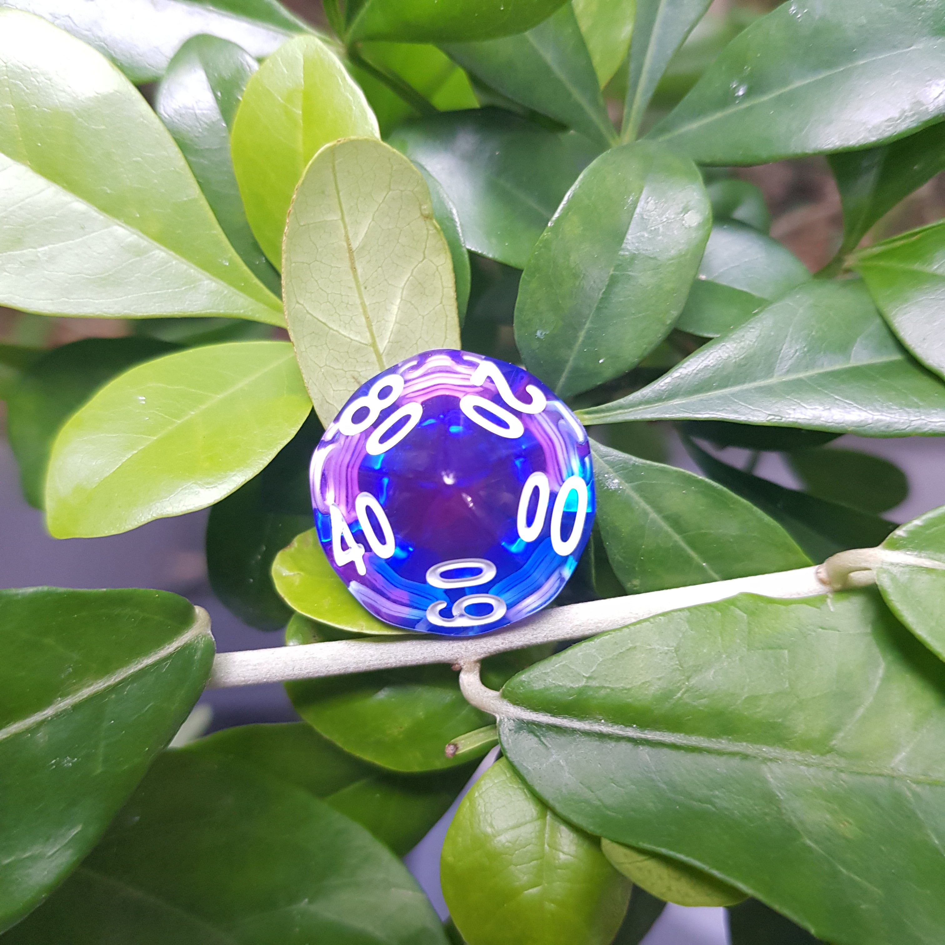 RPG Dice Set - Indigo Sea (Die Hard Dice) | Sunny Pair'O'Dice