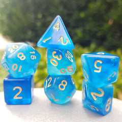 RPG Dice Set - Mermaid's Crown (Die Hard Dice) | Sunny Pair'O'Dice