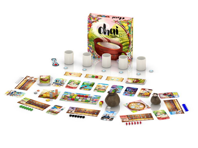 Chai-KS Edition - Piecekeeper Games | Sunny Pair'O'Dice