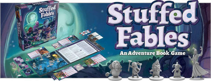 Stuffed Fables - Plaid Hat Games | Sunny Pair'O'Dice
