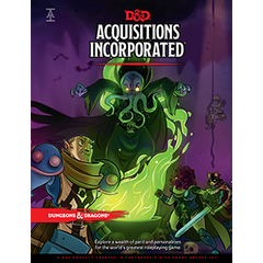 Dungeons and Dragons Acquisitions Incorporated Hardcover | Sunny Pair'O'Dice