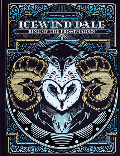Dungeons and Dragons Icewind Dale Hardcover (Alt Cover) | Sunny Pair'O'Dice