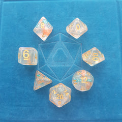 RPG Dice Set - Luminous Koi (Die Hard Dice) | Sunny Pair'O'Dice