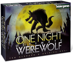 One Night Ultimate Werewolf - Bézier Games | Sunny Pair'O'Dice