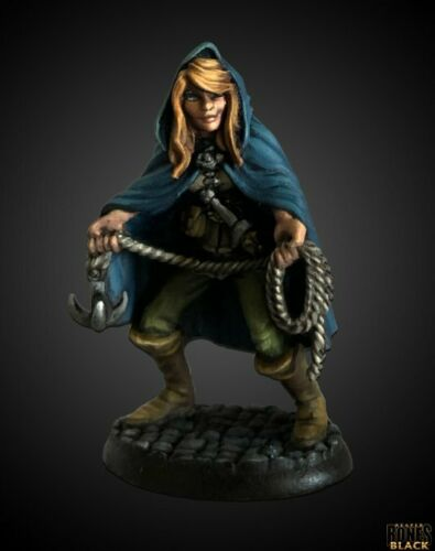 Reaper Miniatures - Daschelle, Female Rogue (44009) (Limited Edition) | Sunny Pair'O'Dice