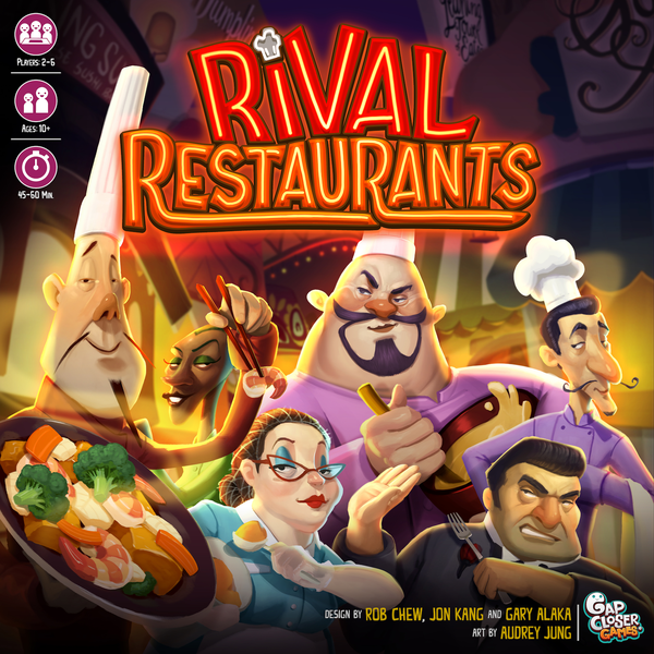 Rival Restaurants - Gap Closer Games | Sunny Pair'O'Dice