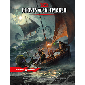 Dungeons and Dragons Ghosts of Saltmarsh | Sunny Pair'O'Dice